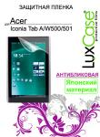 Защитная пленка для планшетов Lux Case Acer ICONIA A W500/501 Антибликовая