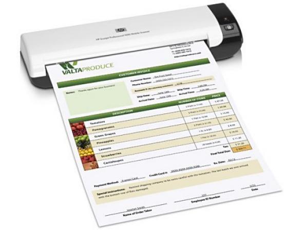 Сканер планшетный HP ScanJet Professional 1000