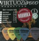 Набор 6 медиаторов VIRTUOZO 01206.PRO