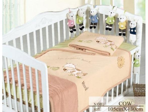 Плед для новорожденных ARYA Cow
