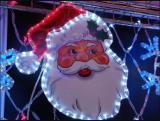 Дед Мороз из дюралайта Flesi PN-008-24