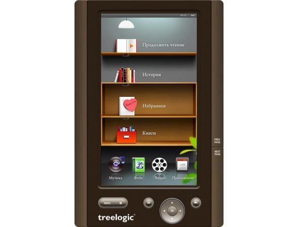 Электронная книга Treelogic Arcus 702 4Gb (Brown)