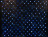 Светодиодная сетка Rich LED 2*1.5 м, цвет: синий. Прозрачный провод.