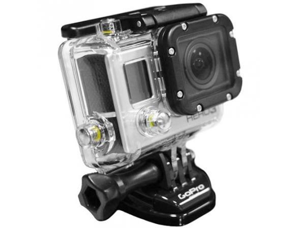Аксессуар _ Водонепроницаемый бокс для камер HERO3.
