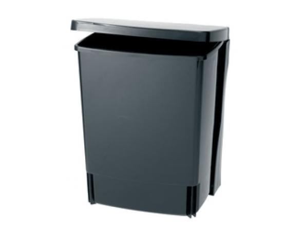 Ведро д/мусора квадратное встраиваемое Brabantia (10л) 395246 черный
