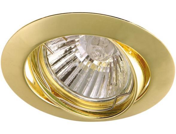 Светильник встраиваемый поворотный ARTELAMP Basic A2105PL-3GO