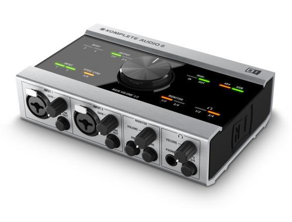 Аудио интерфейс Native Instruments Komplete Audio 6