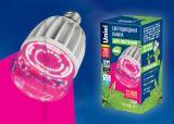 Светодиодная лампа для растений Uniel LED-M80-20W/SP/E27/CL ALS55WH