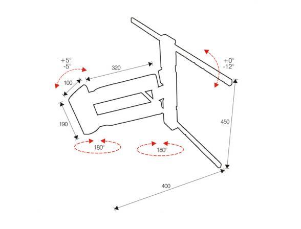 Кронштейн OMB LED-2