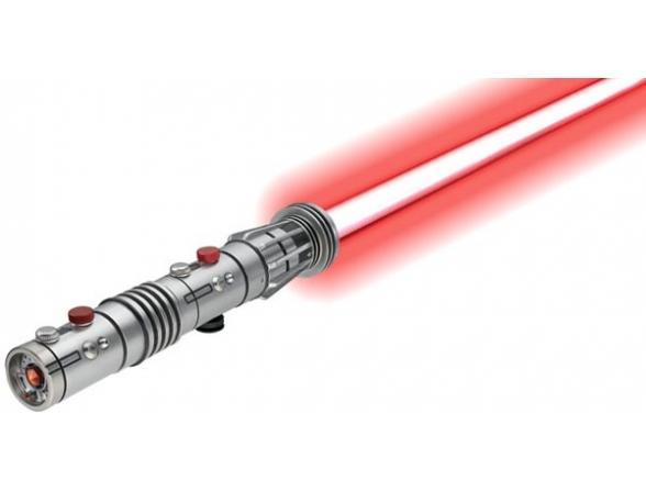 Световой меч Hasbro Darth Maul Force FX lightsaber battle damaged