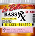 Струны для 4-х струнной бас гитары LA BELLA RX -N4D