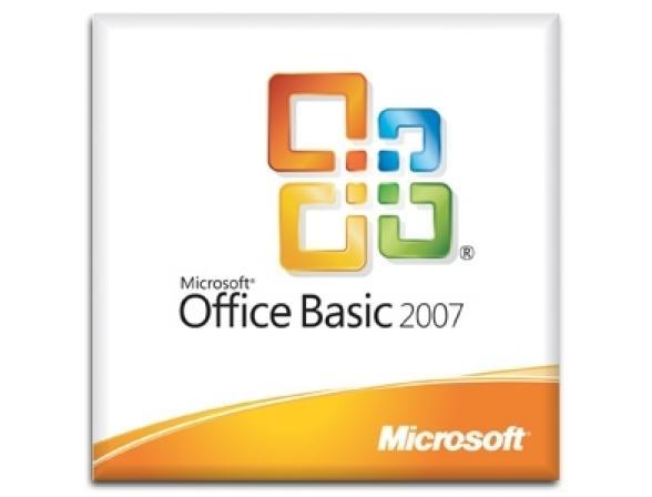 Microsoft ПО MS Office Basic 2007 Win32 Rus DSP OEI MLK (S55-02293) licence + id98702