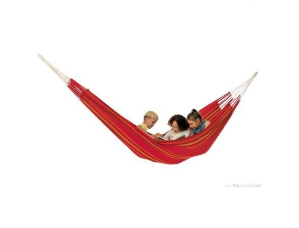 Гамак двухместный La Siesta Currambera Double Hammock Cherry