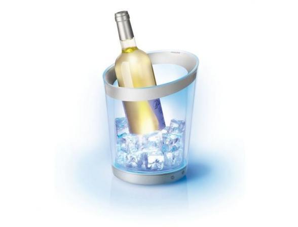 Светодиодное ведро для охлаждения бутылок Philips 847208 LumiwareWineCooler ведро для охл-я бутылок (2/36)