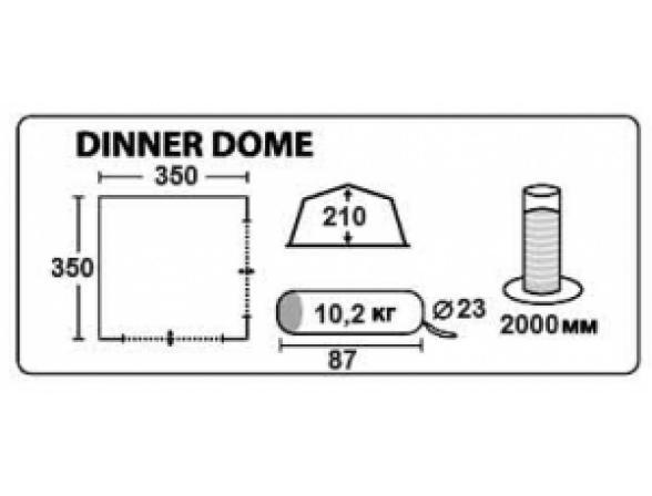 Тент Trek Planet Dinner Dome