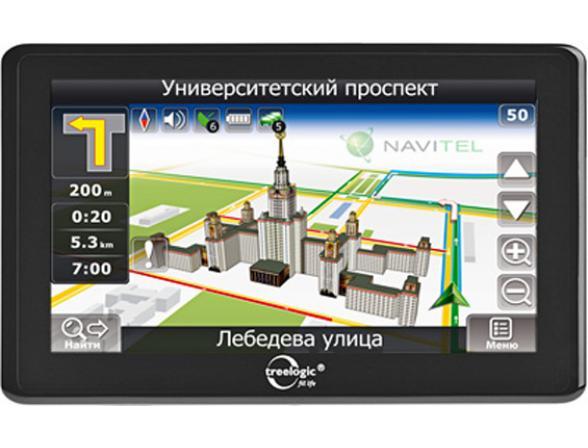 Навигатор Treelogic TL-7005 BGF AV 4GB