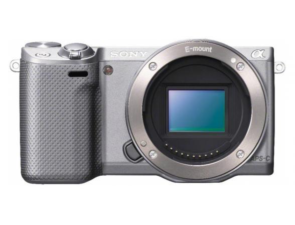 Цифровой фотоаппарат Sony Alpha NEX-5RY Kit 16-50 + 55-210 Silver*
