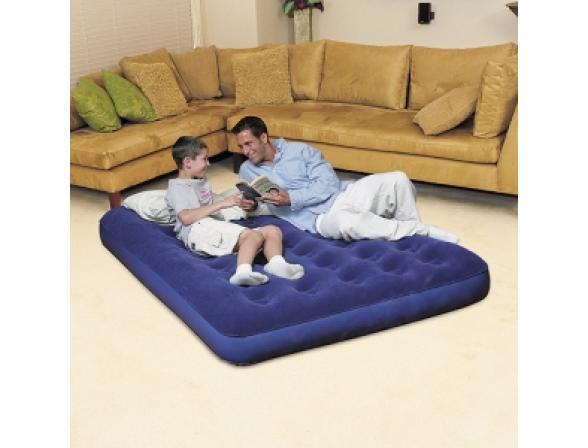Кровать надувная Bestway Flocked Air Bed Double 67002