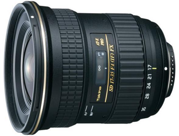 Объектив Tokina AT-X 17-35 F4 PRO FX Canon*