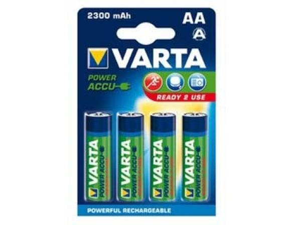 Аккумулятор Varta Ready2Use AA 2300 mAh (уп 4 шт)