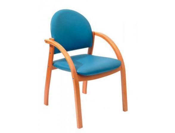 Кресло посетителя бук BURO KH-01Beech/5167