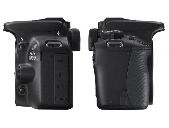 Зеркальный фотоаппарат Canon EOS 100D Kit 18-55 IS II