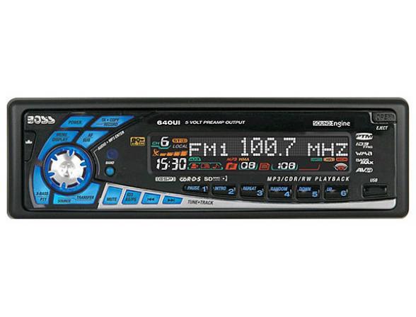 CD/MP3-автомагнитола BOSS Audio 640UI
