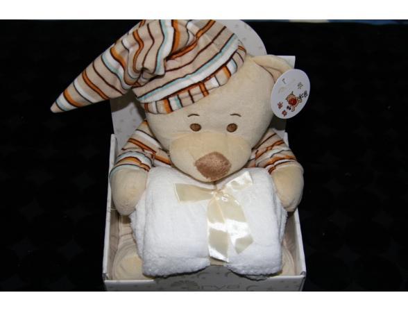 Плед с игрушками ARYA Lovely Bear
