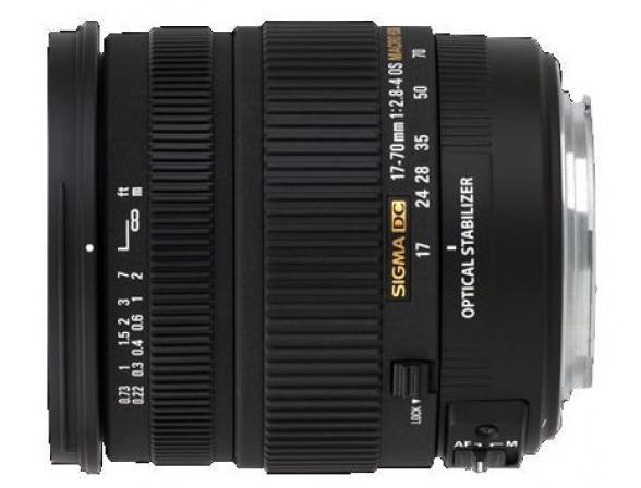 Объектив Sigma AF 17-70mm f/2.8-4 DC MACRO OS HSM New NIKON