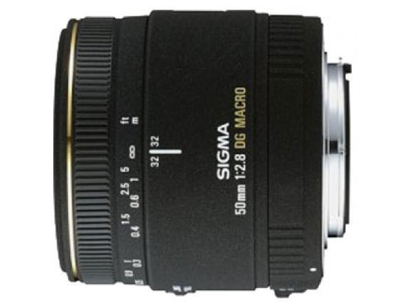 Объектив Sigma AF 50mm f/2.8 EX DG MACRO SONY