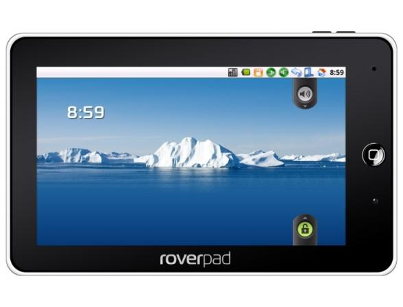 Планшет RoverPad 3W T70