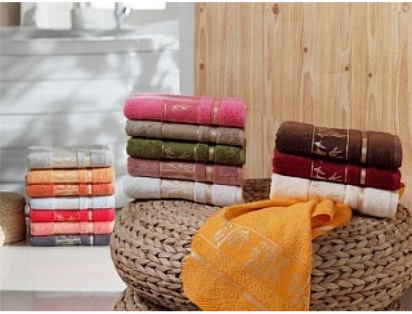 Комплект полотенец ARYA бамбуковое Bonita FAKILI 30х50 6 пр.