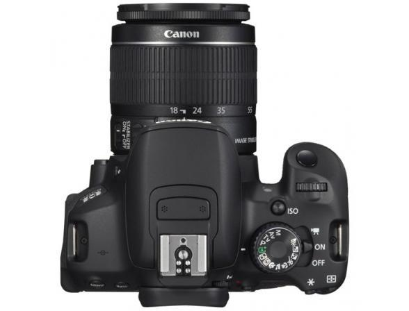 Зеркальный фотоаппарат Canon EOS 650D Kit 18-55 IS II