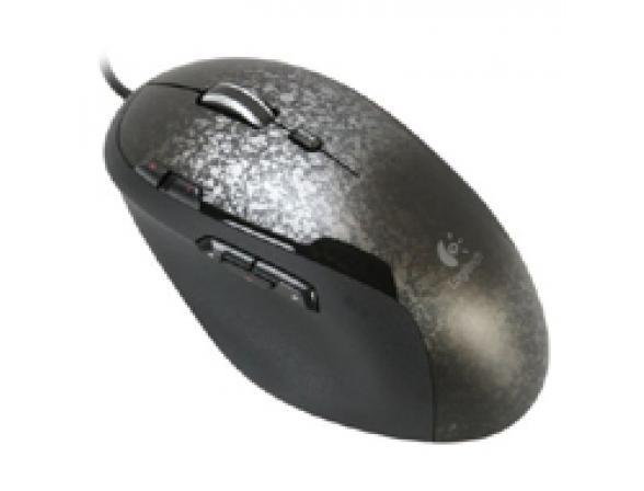 Мышь Logitech Gaming Mouse G500, Silver/Black