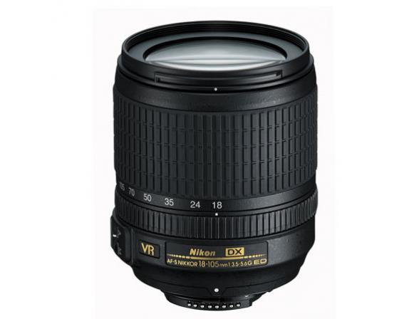 Объектив Nikon 18-105mm f/3.5-5.6G ED AF-S DX VR Nikkor