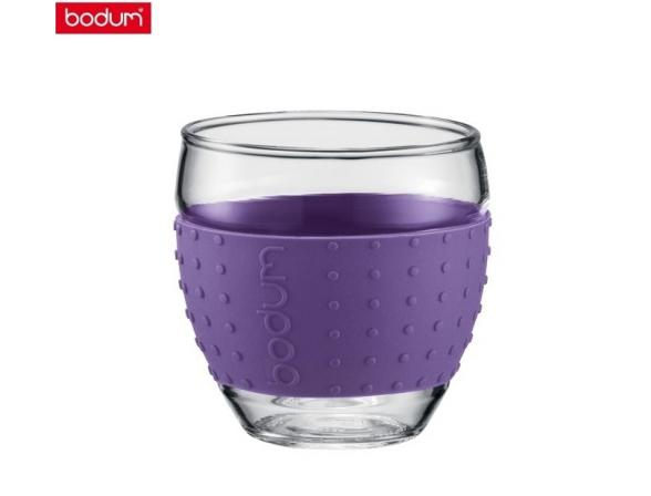 Набор бокалов BODUM 2 шт. Pavina 0.35л фиолет.