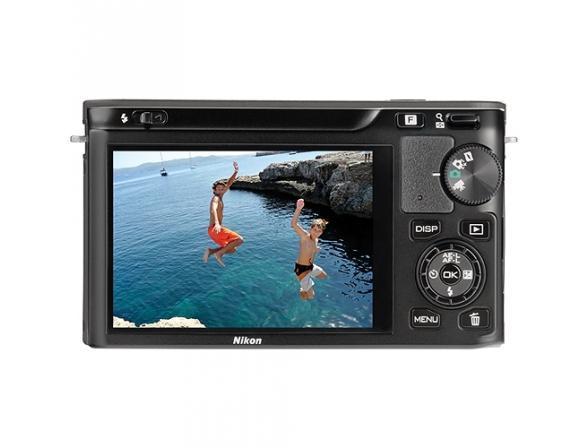 Цифровой фотоаппарат Nikon 1 J1 BK Kit + 10-30mm VR