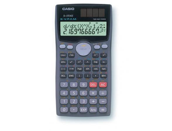 Калькулятор Casio casFX-115MS-SA-EH-D