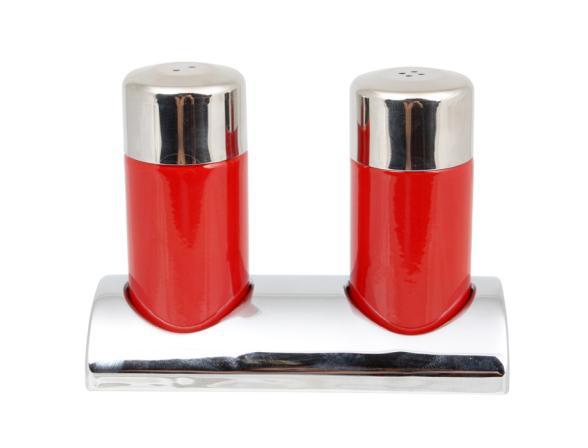 Набор для соли и перца Wesco красный