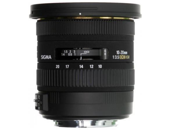 Объектив Sigma AF 10-20mm f/3.5 EX DC HSM CANON