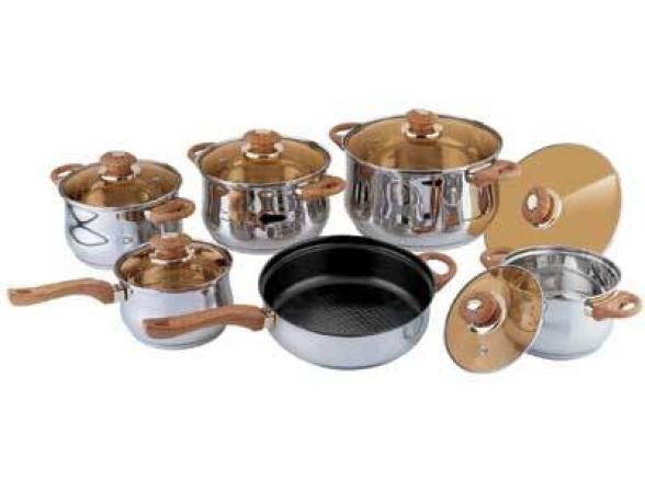 Набор посуды BEKKER Jumbo BK-222