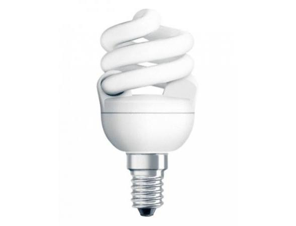 Лампа энергосберегающая OSRAM 619716 DSMICRTW 11W/827 220-240V E14 (10/60)