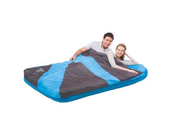 Кровать надувная + отстегиваемый спальный мешок Bestway Aslepa Air Bed Double 67386
