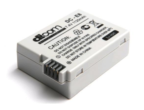 Аккумулятор Dicom DC-E8 for Canon LP-E8