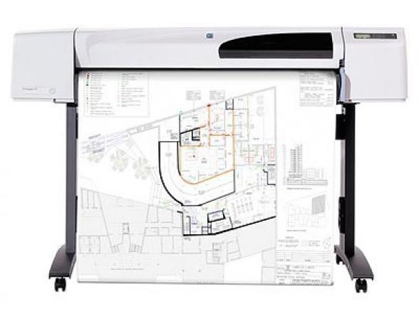Плоттер HP DesignJet 510 (42inch) A0 (CH337A)
