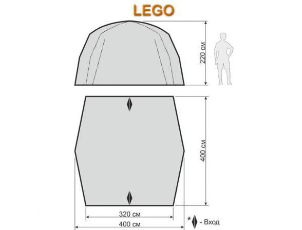 Тент-шатер Maverick Lego (восьмиместный)