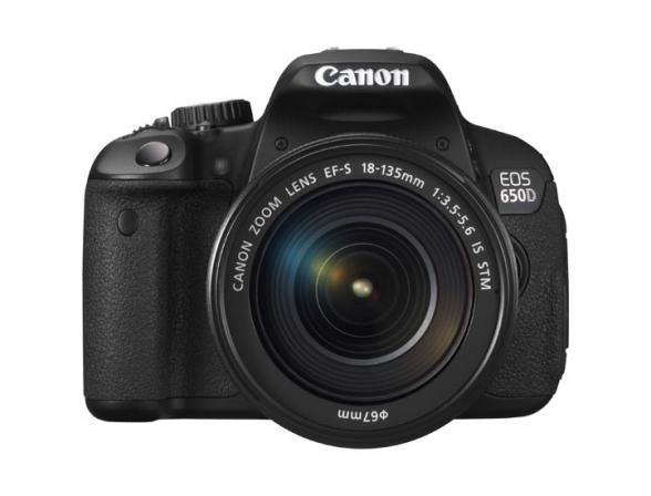 Зеркальный фотоаппарат Canon EOS 650D Kit 18-135 IS STM