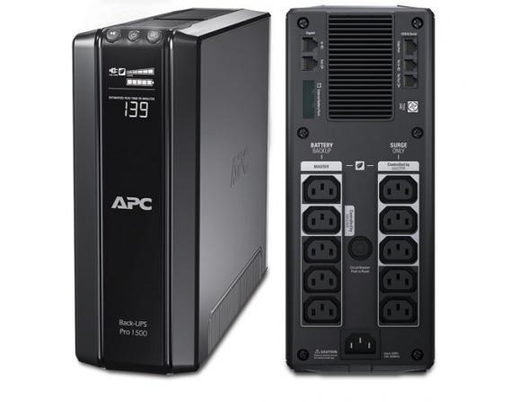 Источник бесперебойного питания APC Back-UPS Pro 1500 VA BR1500GI