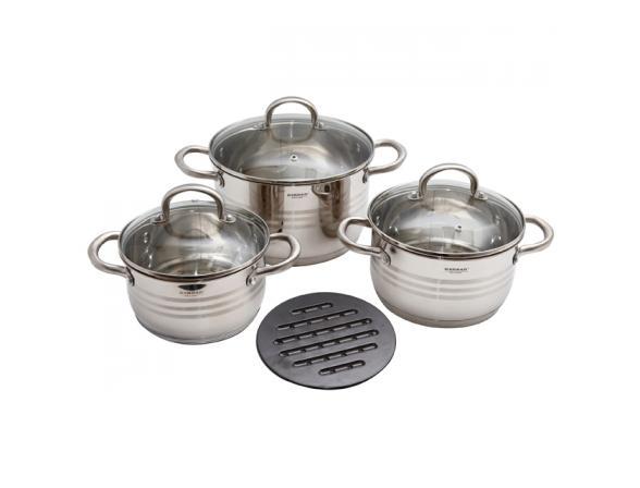 Набор посуды BEKKER deluxe BK-1710
