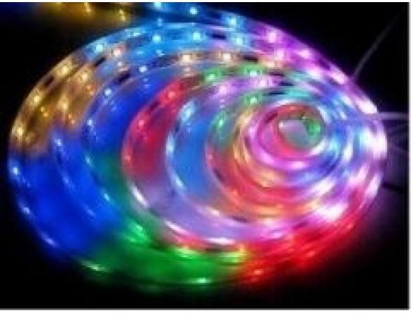 Светодиодная лента ЭРА 613856 LS5050-30LED-IP65-RGB (50/800)